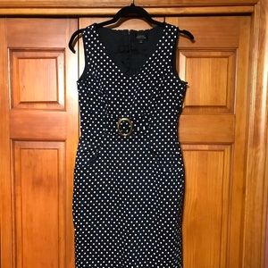 Polka dot dress by Tahari  size  4